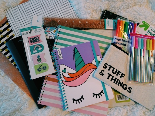 BACK TO SCHOOL 2018: WHAT SUPPLIES SHOULD YOUBUY?