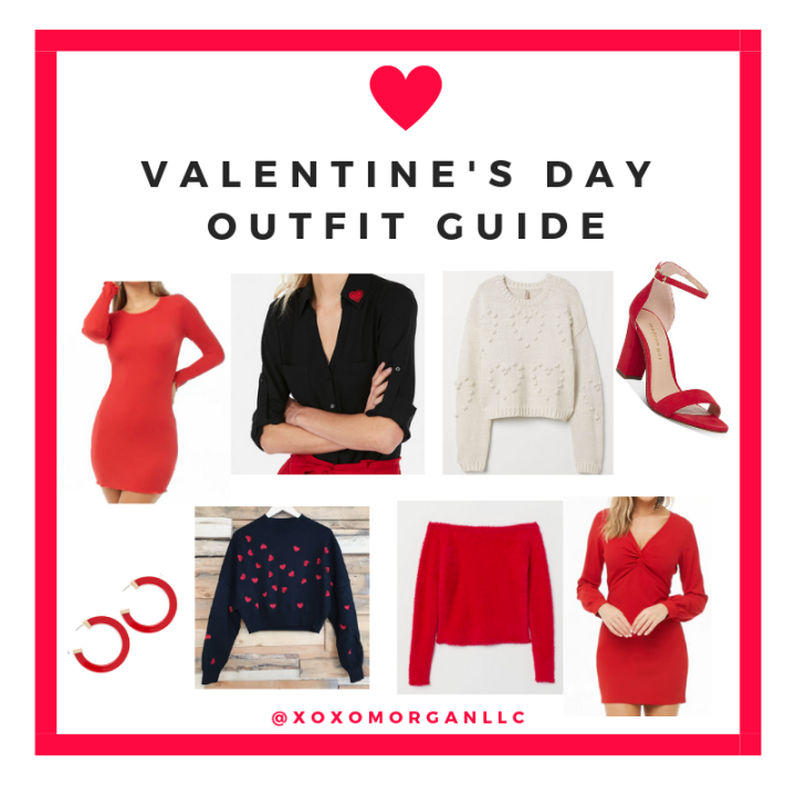 VALENTINE'S DAY 2019 OUTFIT IDEAS